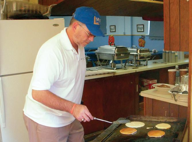 First Pancake Breakfast