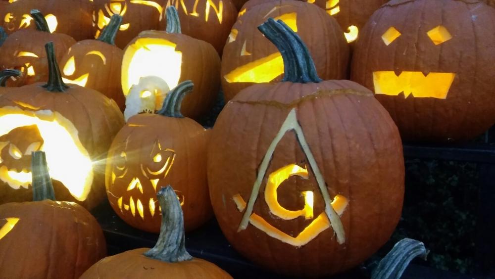 Masonic Pumpkin